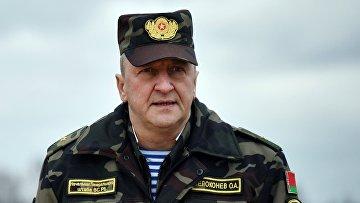 Начальник Генерального штаба Вооруженных сил Республики Беларусь Олег Белоконев