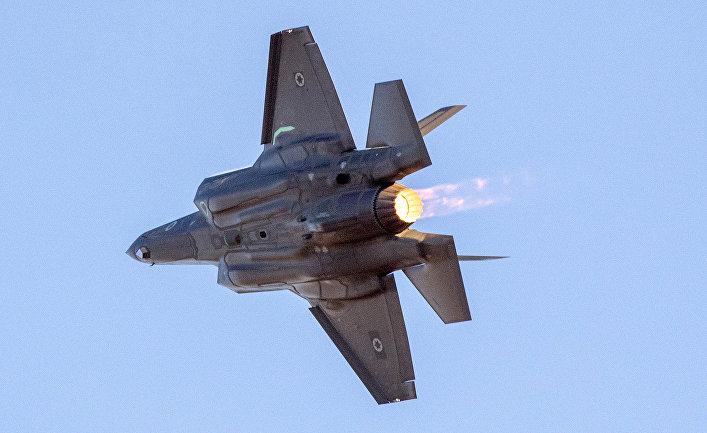Истребитель F-35 ВВС Израиля