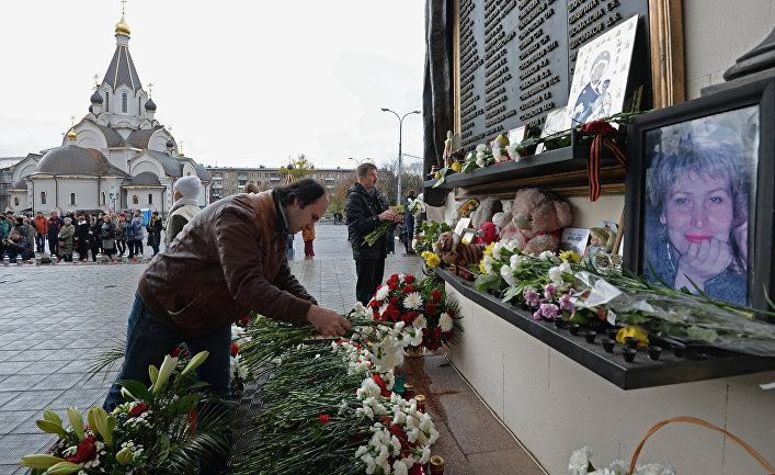 Памятная церемония, посвященная XIII годовщине со дня трагедии на Дубровке