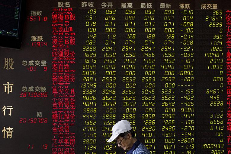Фондовая биржа в Пекине