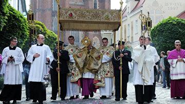 Праздник Тела и Крови Христовых во Вроцлаве