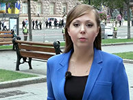 Журналист Первого канала Анна Курбатова