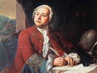 Русский поэт и ученый Михаил Ломоносов