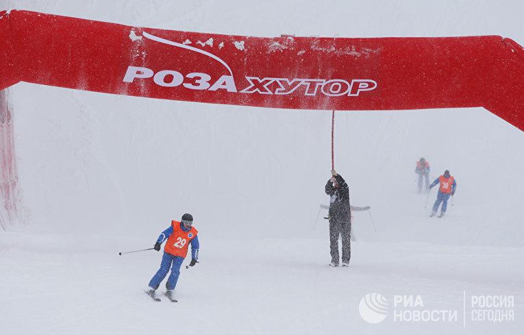 Подготовка к проведению первых тестовых соревнований в Сочи