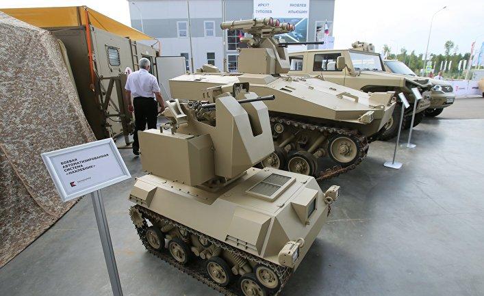 """Открытие международного военно-технического форума """"Армия-2017"""""""