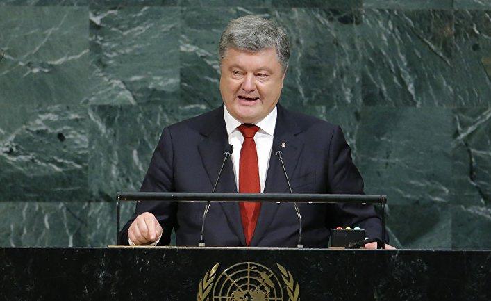 Президент Украины Петр Порошенко на 72-й сессии Генеральной Ассамблеи ООН