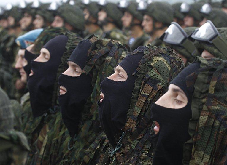 Российско-белорусские учения «Запад-2017» в Белоруссии