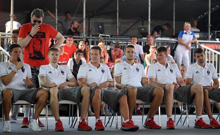 Баскетбол. Презентация мужской сборной России