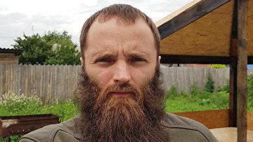 """Лидер """"Христианского государства"""" Александр Калинин"""