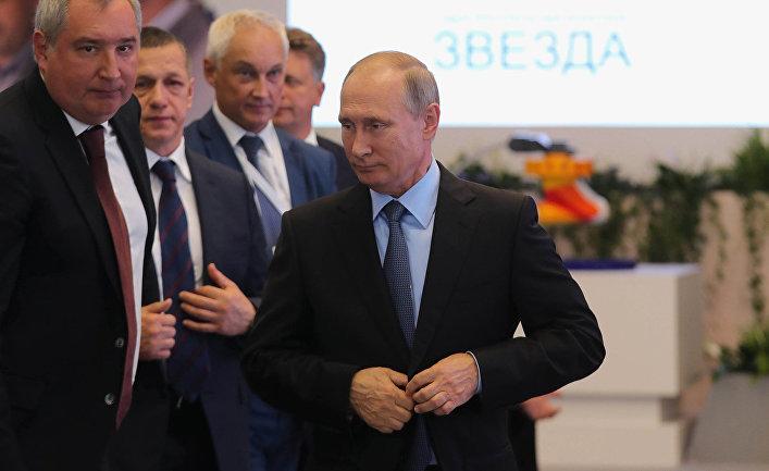 Рабочая поездка президента РФ В. Путина в Приморский край. День четвертый