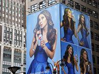 Реклама Pepsi в Нью-Йорке.