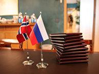 Подготовка к визиту президента РФ Дмитрия Медведева в Норвегию