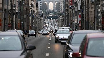 Автомобильное движение в Брюсселе