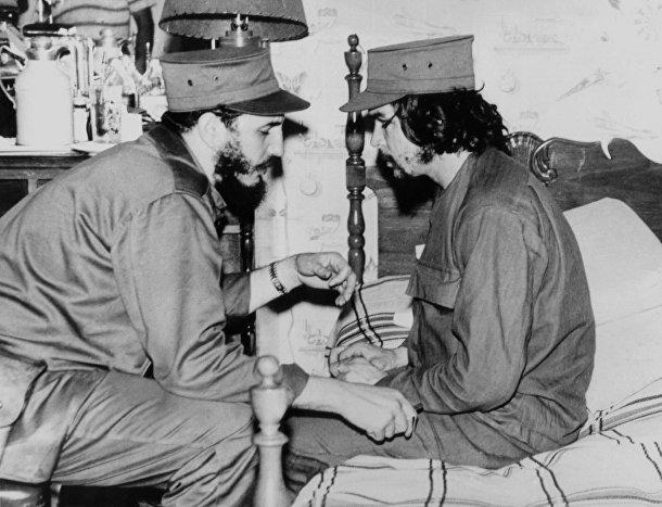 Че Гевара и Фидель Кастро