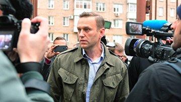 Рассмотрение административного дела в отношении Алексея Навального в Симоновском суде