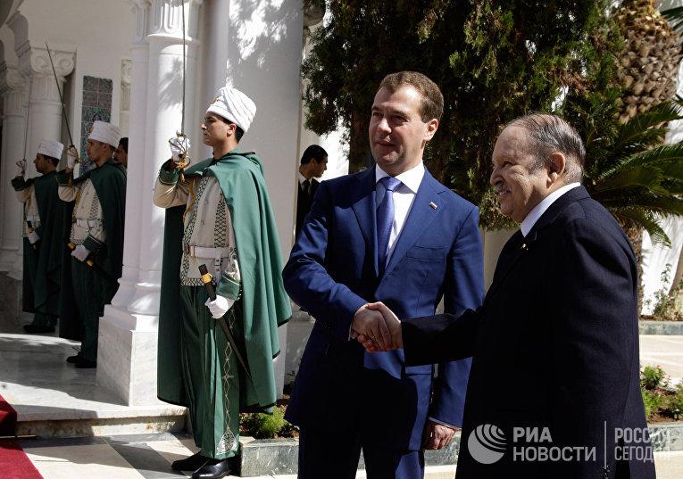 Официальный визит Дмитрия Медведева в Алжир