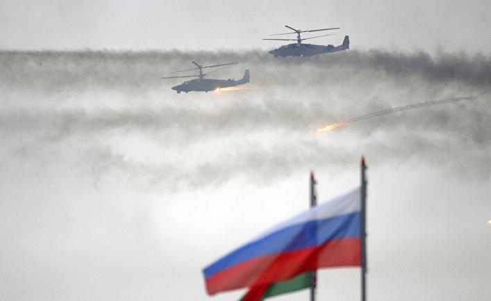 """Российско-белорусские учения """"Запад-2017"""""""