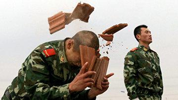 Тренировка сил специального назначения в Чанчуне, провинция Гирин