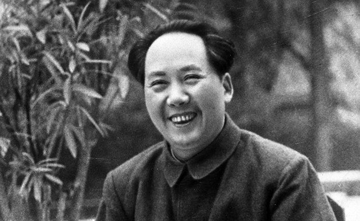 Председатель центрального народного правительства КНР Мао Цзэдун
