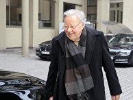 Литовский политик, председатель Верховного совета Литовской Республики в 1990-1992 годах Витаутас Ландсбергис