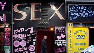 Секс-шоп в Париже, Франция