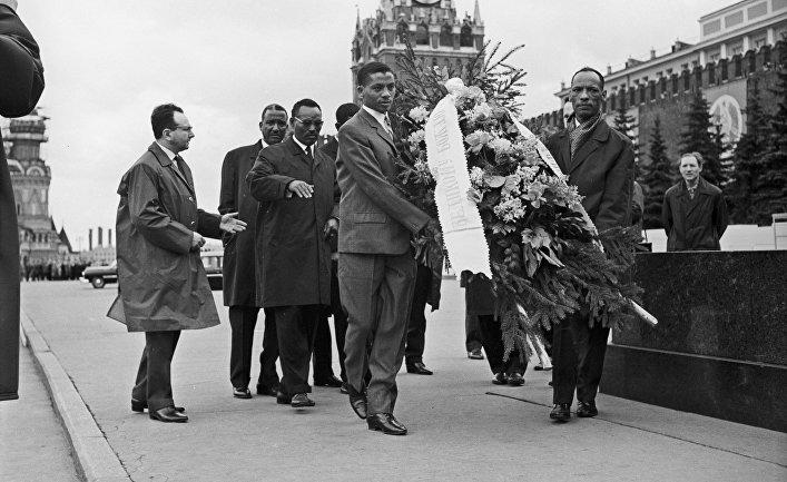 Визит в СССР парламентариев Эфиопии