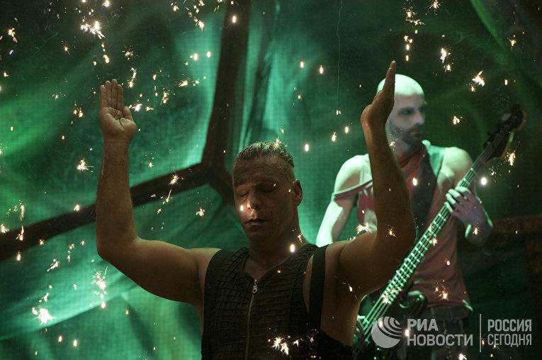 """Концерт группы """"Rammstein"""" в Москве"""