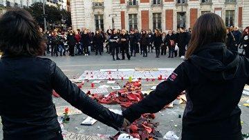 Женщины проводят голодовку в Мадриде в связи с участившимися случаями семейного насилия
