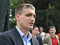 Сербский политик Чедомир Йованович