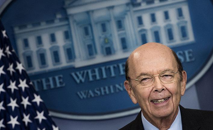 Министр торговли США Уилбур Росс