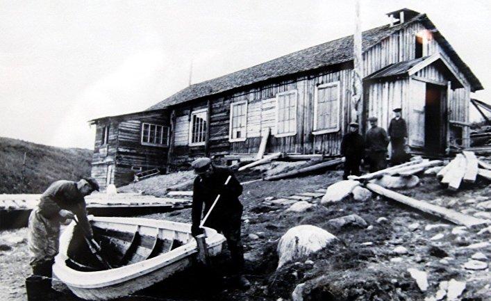 Колония Цып-Наволок. 1930-е годы.