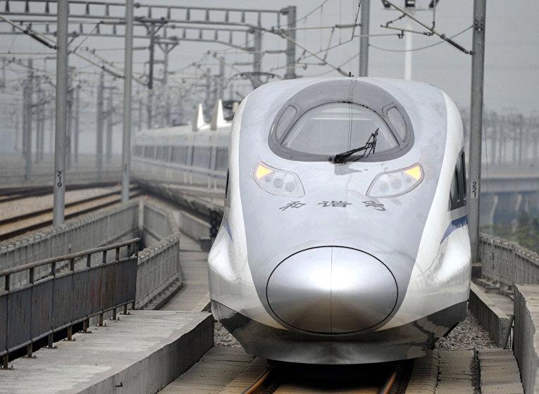 Cкоростной поезд в Китае