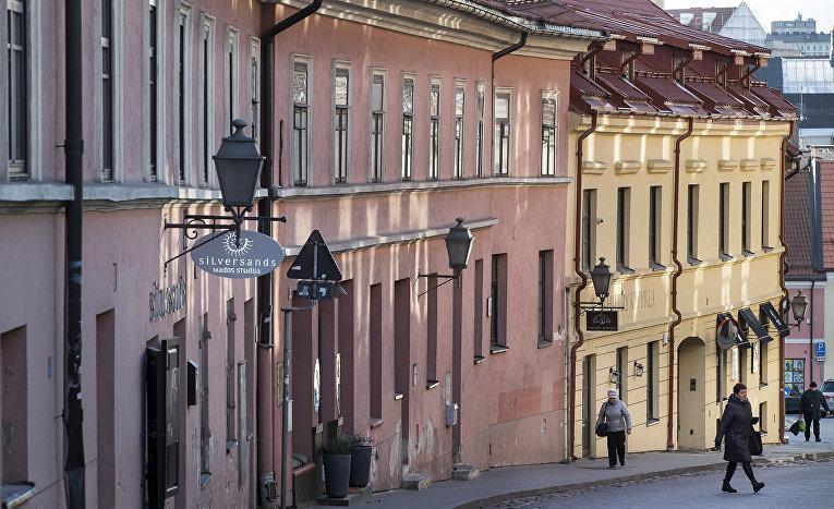 Город Вильнюс в Литве