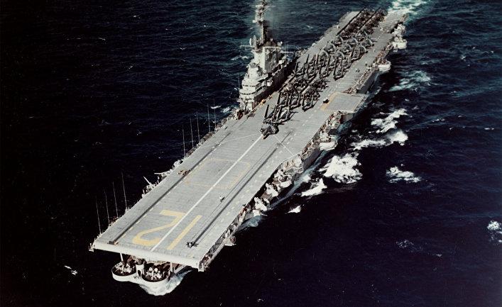 Авианосец «Хорнет», 1954 год