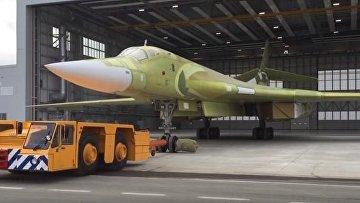 Тяжелый бомбардировщик Ту-160 M2