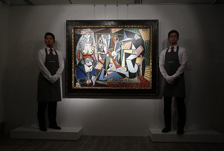 «Женщины Алжира» Пабло Пикассо
