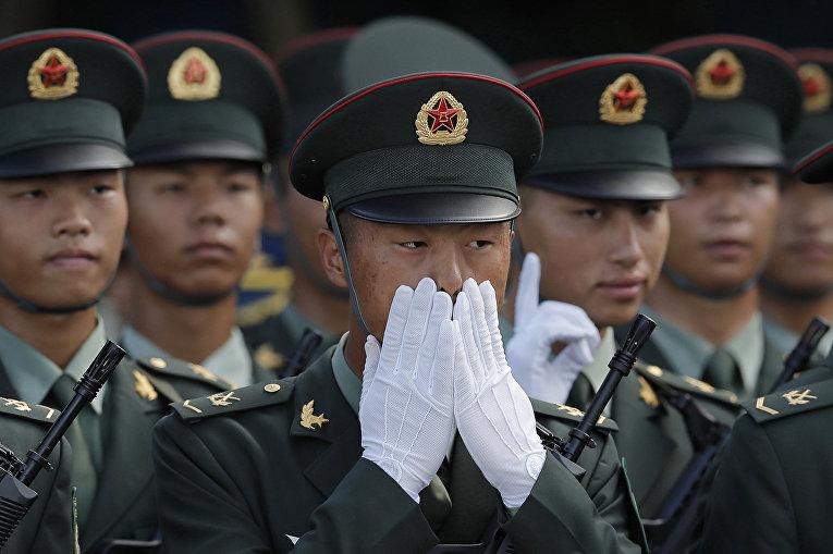 Китайские военные