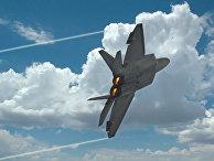 Американский истребитель F-22 Raptor