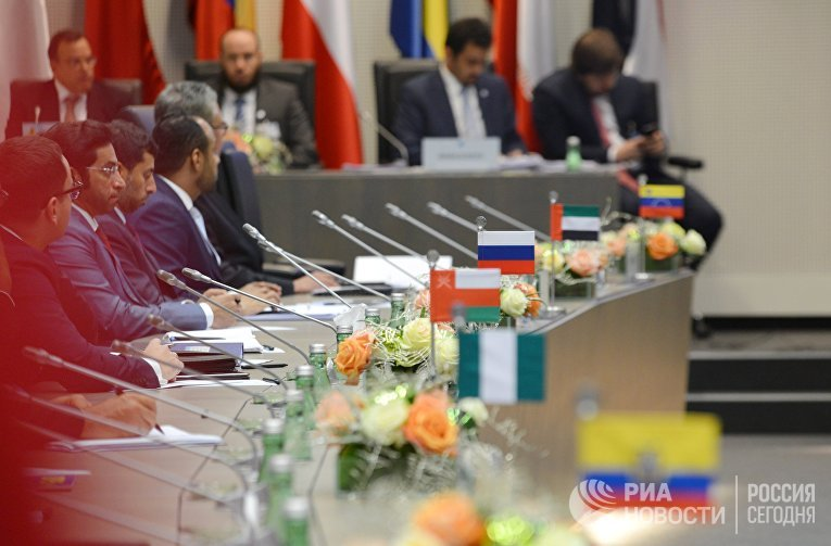 Заседание Организации стран-экспортеров нефти ОПЕК