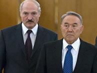 Визит Лукашенко к Назарбаеву в Казахстан