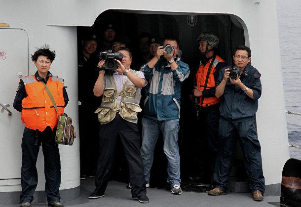Совместные учения ВМС КНР и Тихоокеанского флота РФ