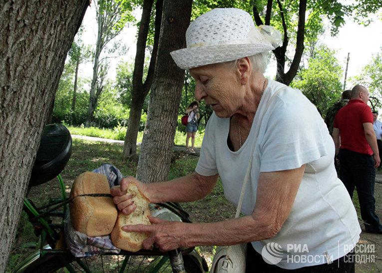 Отъеби старушку хохлушку