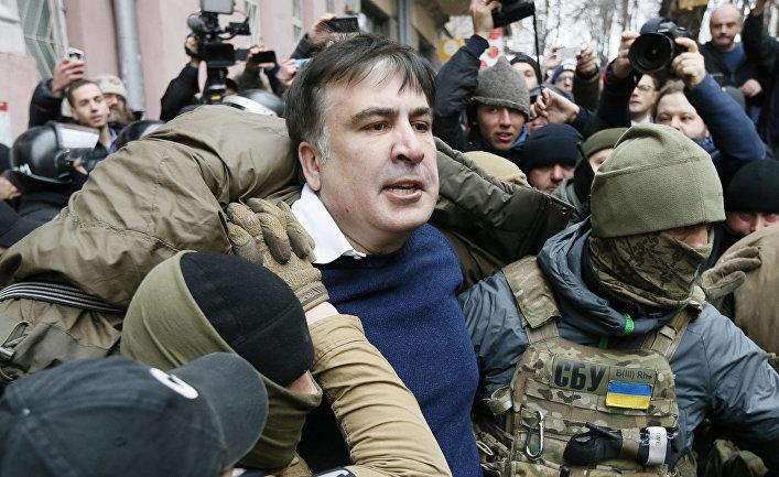 Михаил Саакашвили задержан сотрудниками Службы безопасности Украины в Киеве