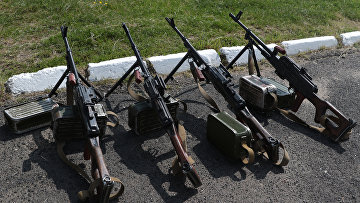 Пулеметы Калашникова на Яворовском полигоне