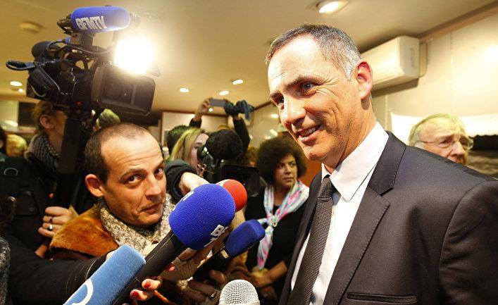 Жиль Симеони, глава корсиканского национального движения