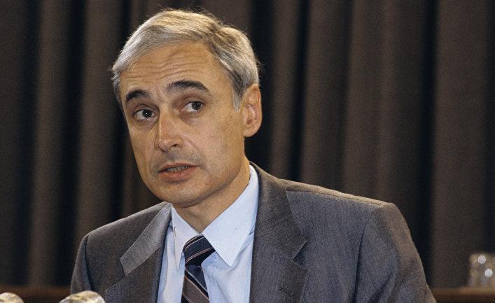 Руководитель пресс-службы Президента СССР Андрей Грачев