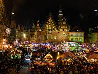 Рождественская ярмарка во Вроцлаве