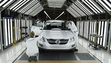 Запуск производства полного цикла на заводе Volkswagen Group Rus в Калуге