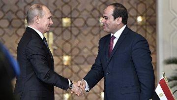 Рабочий визит президента РФ В. Путина в Египет