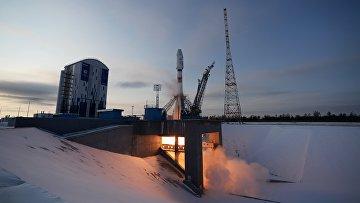 """Запуск ракеты-носителя """"Союз-2.1б"""" с КА """"Метеор"""" №2-1 с космодрома """"Восточный"""""""